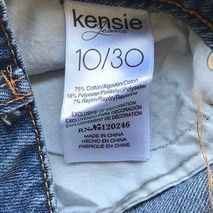 Kensie Skirts - Kensie Jean Skirt